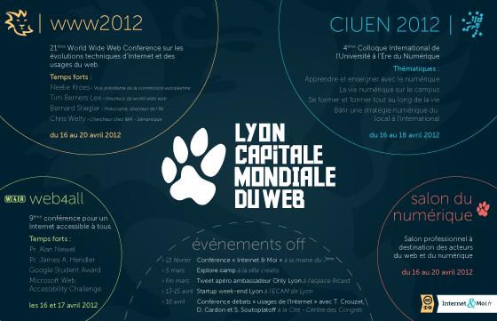 """Lyon Capitale Mondiale Du Web - transcription disponible en cliquant sur """"En Savoir Plus"""""""